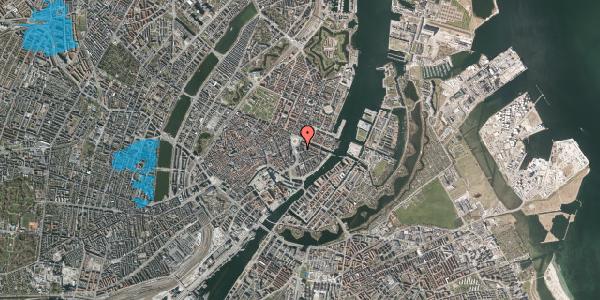 Oversvømmelsesrisiko fra vandløb på August Bournonvilles Passage 3, st. , 1055 København K