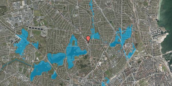 Oversvømmelsesrisiko fra vandløb på Højmosevej 1C, 2400 København NV