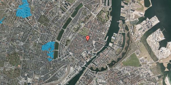 Oversvømmelsesrisiko fra vandløb på Pilestræde 35F, 1. , 1112 København K
