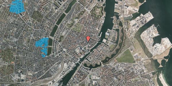 Oversvømmelsesrisiko fra vandløb på Vingårdstræde 3, 1. , 1070 København K