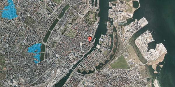 Oversvømmelsesrisiko fra vandløb på Nyhavn 31E, 3. 1, 1051 København K