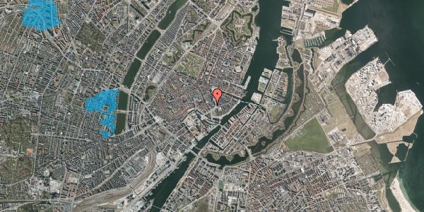 Oversvømmelsesrisiko fra vandløb på Laksegade 7, 2. , 1063 København K