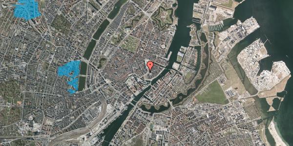 Oversvømmelsesrisiko fra vandløb på Holmens Kanal 10B, 1060 København K