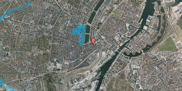 Oversvømmelsesrisiko fra vandløb på Vesterbrogade 16, 1620 København V
