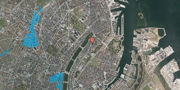 Oversvømmelsesrisiko fra vandløb på Høyensgade 1, 1. , 2100 København Ø