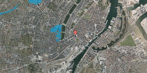 Oversvømmelsesrisiko fra vandløb på Vesterbrogade 2B, 1620 København V