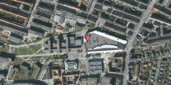 Oversvømmelsesrisiko fra vandløb på Solbjerg Plads 2A, 2000 Frederiksberg