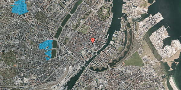 Oversvømmelsesrisiko fra vandløb på Vingårdstræde 8, 5. , 1070 København K