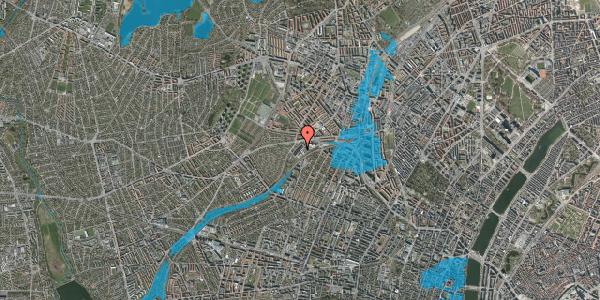 Oversvømmelsesrisiko fra vandløb på Jordbærvej 57, 2400 København NV