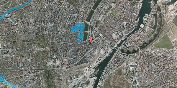 Oversvømmelsesrisiko fra vandløb på Vesterbrogade 25, 5. , 1620 København V