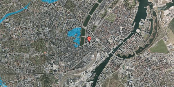 Oversvømmelsesrisiko fra vandløb på Ved Vesterport 6, 1. , 1612 København V