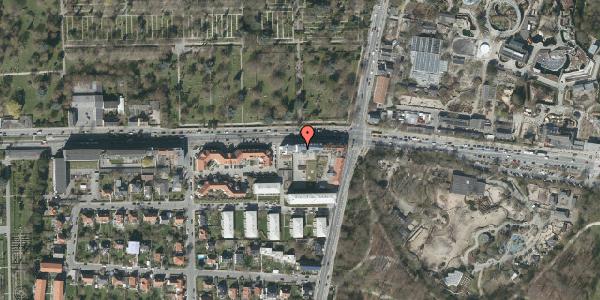 Oversvømmelsesrisiko fra vandløb på Roskildevej 33A, 5. 604, 2000 Frederiksberg