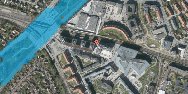 Oversvømmelsesrisiko fra vandløb på Dirch Passers Allé 60, 2000 Frederiksberg