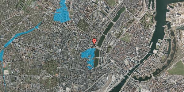 Oversvømmelsesrisiko fra vandløb på Herman Triers Plads 8, 1631 København V