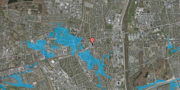 Oversvømmelsesrisiko fra vandløb på Glostrup Shoppingcenter 69, st. , 2600 Glostrup