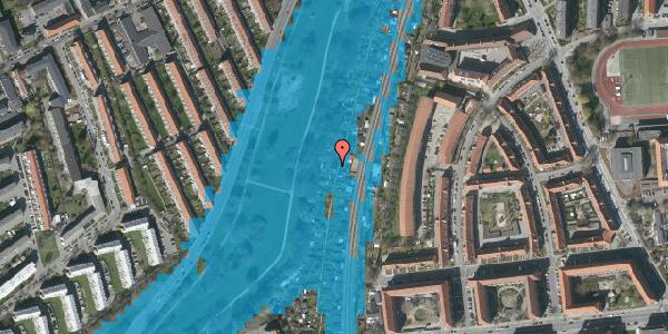 Oversvømmelsesrisiko fra vandløb på Hf. Grænsen 36, 2000 Frederiksberg