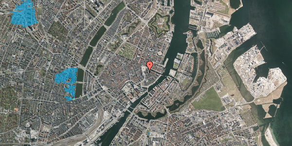 Oversvømmelsesrisiko fra vandløb på August Bournonvilles Passage 3, 3. , 1055 København K