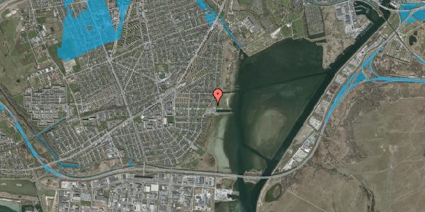 Oversvømmelsesrisiko fra vandløb på Hvidovre Strandvej 23B, 2650 Hvidovre