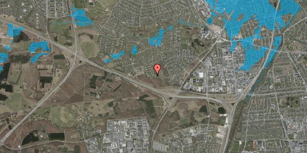 Oversvømmelsesrisiko fra vandløb på Karsevænget 34G, 2600 Glostrup