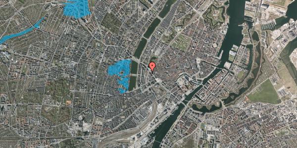 Oversvømmelsesrisiko fra vandløb på Hammerichsgade 14, 1. , 1611 København V