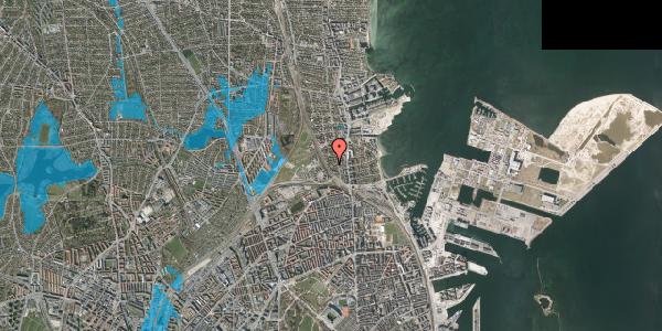 Oversvømmelsesrisiko fra vandløb på Sølundsvej 8A, 2100 København Ø