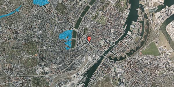 Oversvømmelsesrisiko fra vandløb på Vesterbrogade 2A, 5. , 1620 København V