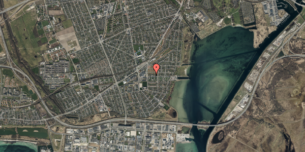 Oversvømmelsesrisiko fra vandløb på Strandhavevej 11, 2650 Hvidovre