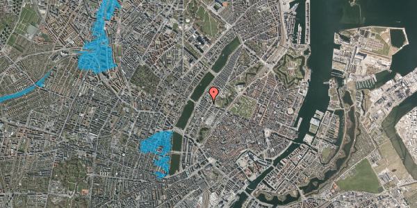 Oversvømmelsesrisiko fra vandløb på Gothersgade 148, 1123 København K