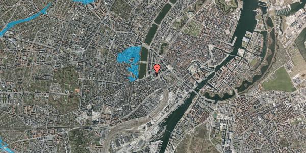 Oversvømmelsesrisiko fra vandløb på Meldahlsgade 3, 4. , 1613 København V