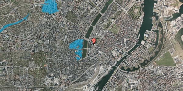 Oversvømmelsesrisiko fra vandløb på Dahlerupsgade 1, 5. 2, 1603 København V