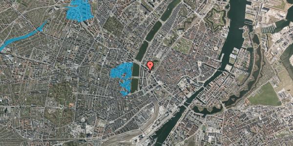 Oversvømmelsesrisiko fra vandløb på Vester Farimagsgade 37B, 5. 2, 1606 København V