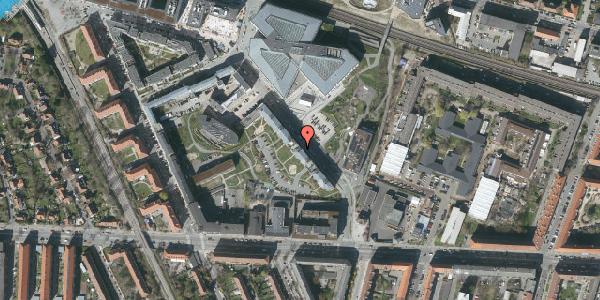 Oversvømmelsesrisiko fra vandløb på Dirch Passers Allé 9, 4. tv, 2000 Frederiksberg