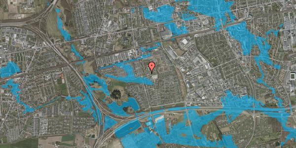 Oversvømmelsesrisiko fra vandløb på Løkkekrogen 3, 2625 Vallensbæk