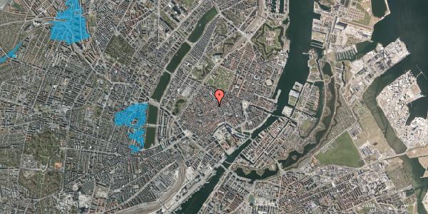 Oversvømmelsesrisiko fra vandløb på Løvstræde 8A, 2. , 1152 København K