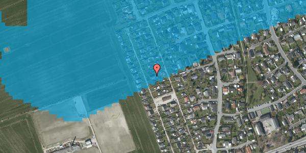 Oversvømmelsesrisiko fra vandløb på Hf. Dahlia 73, 2650 Hvidovre