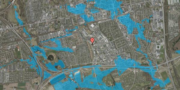 Oversvømmelsesrisiko fra vandløb på Park Alle 390, 2625 Vallensbæk