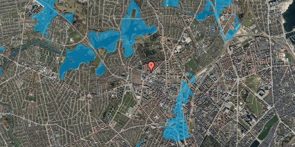 Oversvømmelsesrisiko fra vandløb på Dortheavej 32C, 2400 København NV