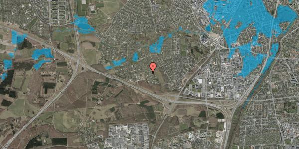 Oversvømmelsesrisiko fra vandløb på Kamillevænget 22, 2600 Glostrup
