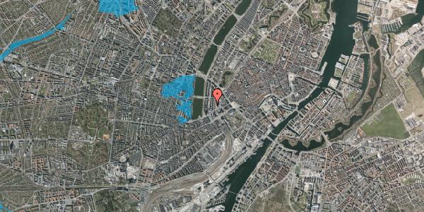 Oversvømmelsesrisiko fra vandløb på Vester Farimagsgade 15, 1606 København V