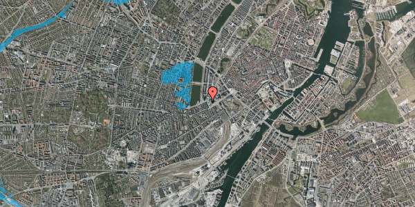 Oversvømmelsesrisiko fra vandløb på Trommesalen 4, 3. , 1614 København V