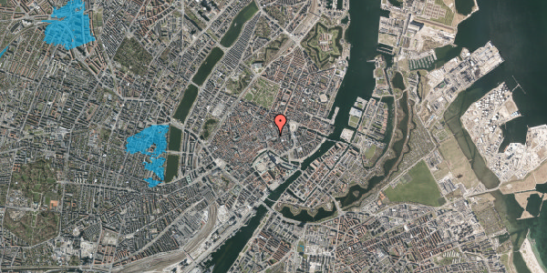 Oversvømmelsesrisiko fra vandløb på Pilestræde 2, st. , 1112 København K