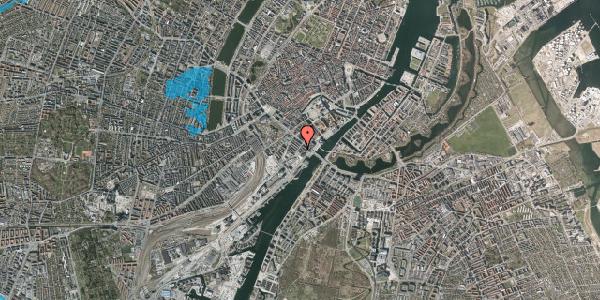 Oversvømmelsesrisiko fra vandløb på Puggaardsgade 14, 3. mf, 1573 København V