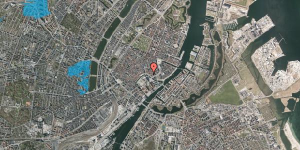 Oversvømmelsesrisiko fra vandløb på Boldhusgade 6A, kl. , 1062 København K