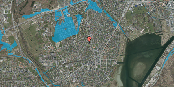 Oversvømmelsesrisiko fra vandløb på Oremandsvej 5, 2650 Hvidovre