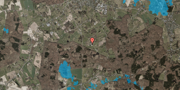 Oversvømmelsesrisiko fra vandløb på Ny Mårumvej 89, 3230 Græsted