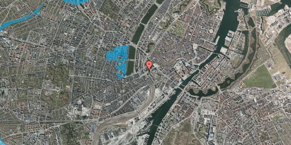 Oversvømmelsesrisiko fra vandløb på Vesterbrogade 6A, 8. , 1620 København V