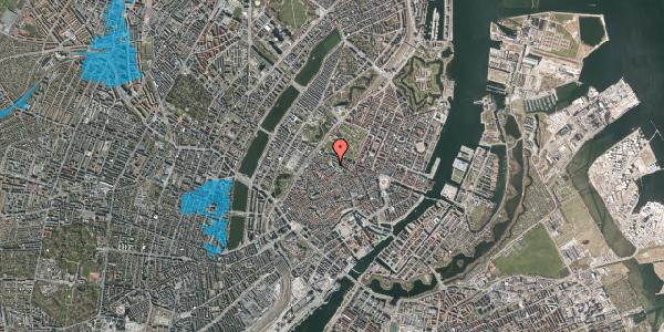 Oversvømmelsesrisiko fra vandløb på Suhmsgade 4, 1. , 1125 København K