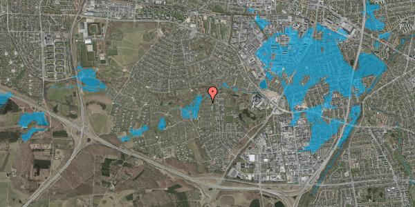 Oversvømmelsesrisiko fra vandløb på Vængedalen 812, 2600 Glostrup