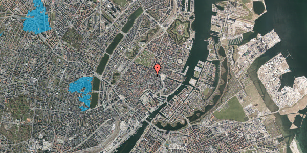 Oversvømmelsesrisiko fra vandløb på Grønnegade 6, 2. , 1107 København K