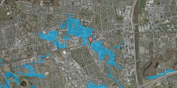 Oversvømmelsesrisiko fra vandløb på Stationsparken 30, 2600 Glostrup
